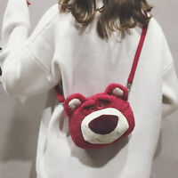 Toy Story Lotso Messenger Bag Plush Toy Crossbody Bag Doll Kids Adult