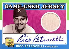 Rico Petrocelli Autographed 2001 Upper Deck Decade 70's Jersey Boston Red Sox
