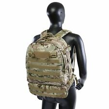 Multicam Camo US Army Lap Top Pack Highland Tactical ARMOUR Heavy Duty Backpack