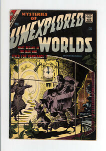 MYSTERIES OF UNEXPLORED WORLDS #5 VG  ALL DITKO COVER & ART - RARE ISSUE 1957