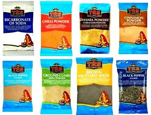 TRS Indian Spices Ground Whole Seeds Seasoning Herbs Curry Powder Finest Quality