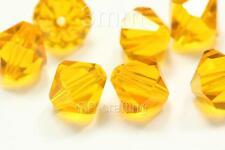 200 Austria bicone crystal beads 4mm for Swarovski 5301/5328-U pick colors #AB42