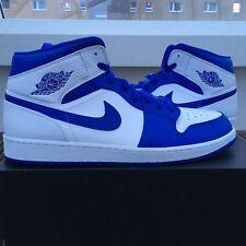 los angeles 07706 e44ae Nike Air Jordan 1 Mid Royal Blue US 17