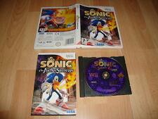 Nintendo Wii PAL version Sonic y los anillos secretos