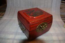 CHINESE ASIAN ORIENTAL JEWELRY BOX Keepsake Box