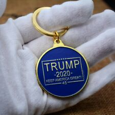 Trump 2020 Key Chain Coin - Gold Plated Keep America Great Accessory Keychain
