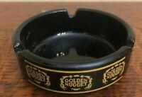 Golden Nugget Gambling Hall Casino Downtown Las Vegas Vintage Ashtray Black