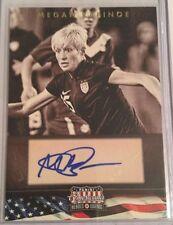 2012 Panini Americana Megan Rapinoe Autograph USA Soccer 101/179