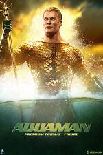 Sideshow DC Comics Aquaman Premium Format Figure - Batman, Justice League Statue