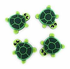 4pcs Turtles Shoe Charms for Crocs Clog Shoes Bracelets Gift