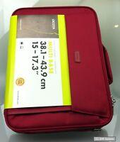 Dicota D30917 Multi BASE Notebooktasche, für 15 bis zu 17,3 Notebooks, Rot/Red