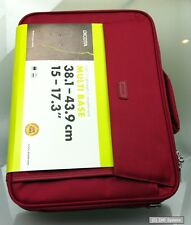 Dicota D30917 Multi BASE Notebooktasche, für 15 bis zu 17,3 Notebooks, Rot/Red