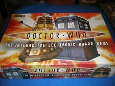 Dr Doctor Who The interactive Electronic  Board Game 100% COMPLETE WORKING DALEK