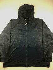 Adidas Mens XL Navy Blue Electric Basketball FZ Hoodie Sweatshirt NWT $75