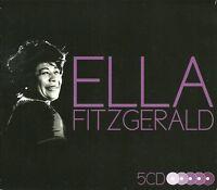 ELLA FITZGERALD - 5 CD BOX SET - BEGIN THE BEGUINE & MORE