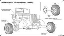 CMK Blitz B72013 1/72 Resin Detail Kit-WWII Wheels for Willys Jeep - ACA