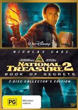 National Treasure 02 - Book Of Secrets (DVD, 2008, 2-Disc) VGC Pre-owned (D107
