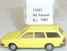 Zitronengelb VW Passat Bj 1981 IMU EUROMODELL 11021  H0 1:87 OVP #HO 1    å