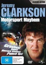 Jeremy Clarkson Motorsport Mayhem - DVD LIKE NEW FREE POST AUS REGION 4