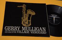 GERRY MULLIGAN LP CONCERT VILLAGE VANGUARD 1°ST ORIG ITALY '60 EX VERVE FOC LAMI