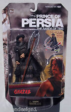 DISNEY PRINCE OF PERSIA SANDS OF TIME. GHAZAB WITH 2-HEADED AXE. NEW ON CARD