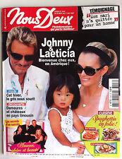 Photoromans NOUS DEUX 25/9/2007; Johnny et Laetitia/ Amour Gloire & Beauté