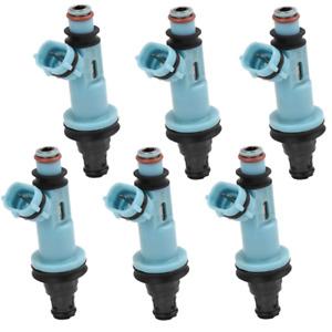 OEM Denso Fuel Injectors Set for 01-05 Lexus IS300 3.0 I6 02 03 04