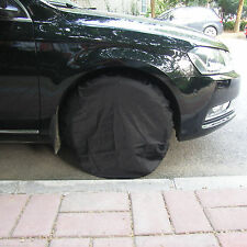"""Set Of 4 Wheel Tire Covers to 28"""" For Rv Trailer Camper Car Truck And Motor Home"""