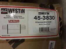 Westin 45-3830 - Sportsman Polished Grille Guard
