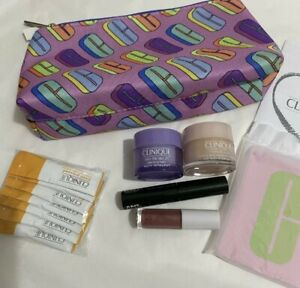 Clinique Skincare/ Make Up In Cosmetic Bag