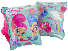 Official Shimmer And Shine Girls Inflatable Swimming Aid Arm Bands