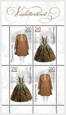 Hongarije / Hungary - Postfris/MNH - Sheet History of Clothing 2018
