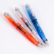 3pcs LANBITOU 8040 Iridium Point Fine Nib Fountain Pens Set Of 3
