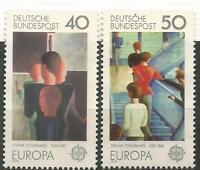 ALEMANIA EUROPA cept 1975 ** Sin Fijasellos MNH