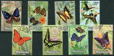 1970 - MALAYA - BUTTERFLIES SET OF 8, UMM