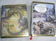 The Hobbit + Lord Of The Rings Hardback Illustrated Anniversary Editions