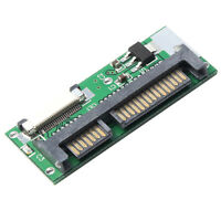 """1.8"""" ZIF to SATA Converter, ZIF CE to 22Pin SATA Adapter with FFC Cable"""