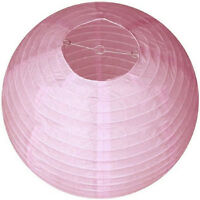 "10"" 12"" 16"" Round Paper Lanterns Lamp Shade Wedding Birthday Party Decoration TK"