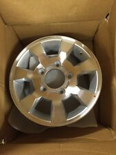 BRAND NEW IN THE BOX 74552 Factory, OEM  wheel 15 X 6; Sparkle Silver Machined