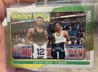 Zion Williamson & Ja Morant Jersey Swap 2021 NBA Hoops #10 2nd year PSA Ready!!!