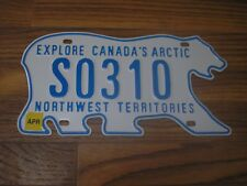 Mint 2011 Issue  Northwest Territories  School Bus License Plate S0310