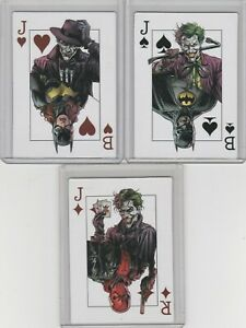 🤡🦇Batman: Three Jokers Playing Cards All 3 Set DC Comic 2020🤡🦇