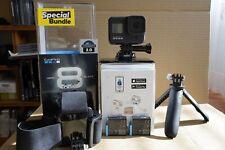 GoPro HERO8 Holiday Bundle + Extras, neuwertig, Restgarantie, erst 4 Monate alt!