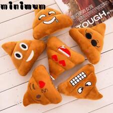 5 Types Mini Emoji Pillow Cushion Poop Shape Pillow Doll Toy Throw Pillow Amusin