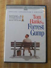 Forrest Gump Dvd 2 disc Tom Hanks Sally Field Robin Wright comedy drama family
