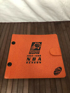 1997/98 Phoenix Suns NBA Basketball 30th Anniversary Season Ticket Album