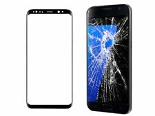 NEW Black Replacement Front Outer Screen Glass LCD Lens For Samsung Galaxy S8