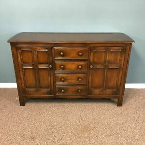 1950's High Quality English Ercol Chestnut Sideboard