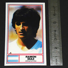 FOOTBALL 1983-1984 RAMON DIAZ ARGENTINA RIVER PLATE INTER MONACO NIPPON PANINI