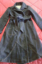 ROBERTO CAVALLI just JEANS giacca trench coat MANTEL jacket DENIM